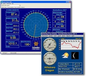 Current Weather Conditions Monitoring Software